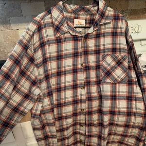 Men's 2XL flannel shirt